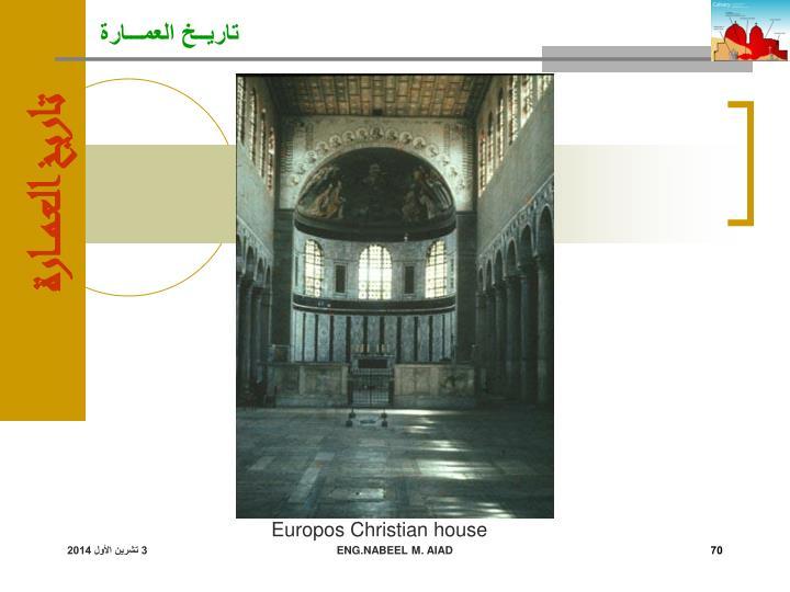 Europos Christian house