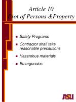 article 10 prot of persons property