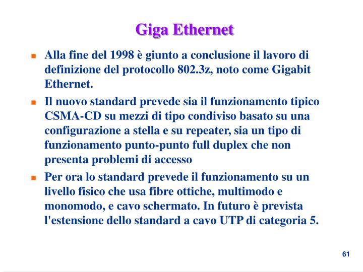 Giga Ethernet