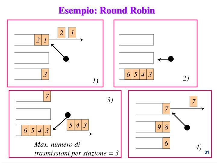 Esempio: Round Robin