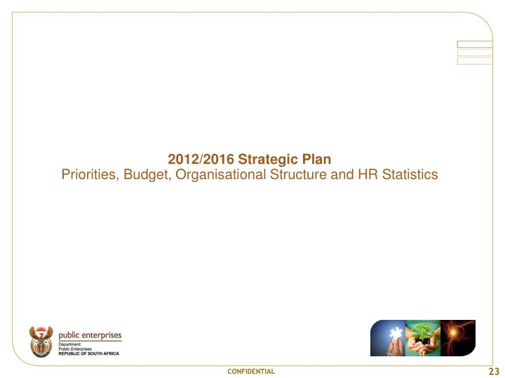 2012/2016 Strategic Plan