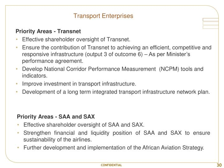 Transport Enterprises