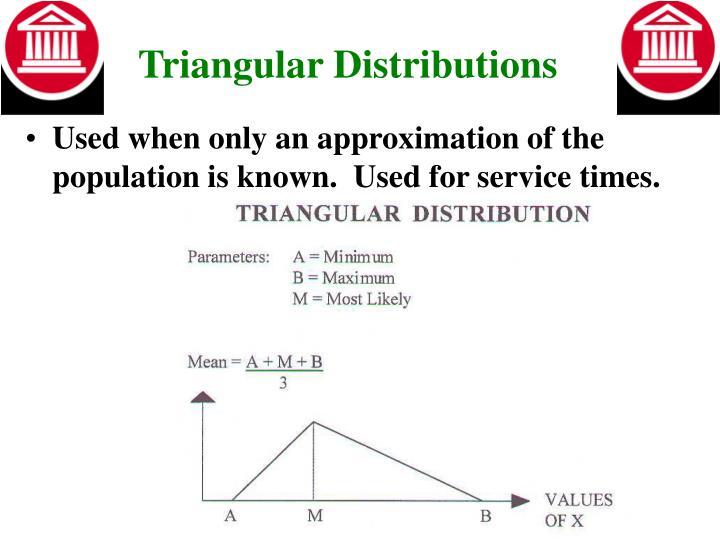 Triangular Distributions