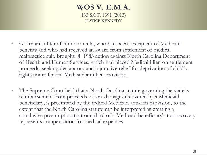 WOS V. E.M.A.