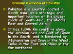 ecnomy overview of pakistan1