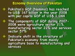 ecnomy overview of pakistan4