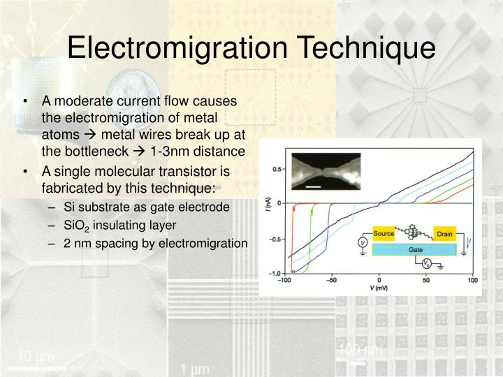 Electromigration Technique