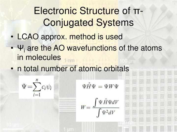 Electronic Structure of
