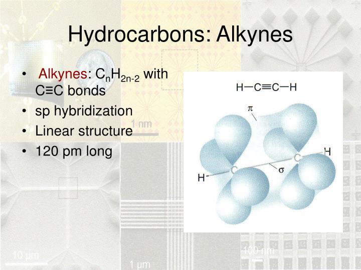 Hydrocarbons: Alkynes