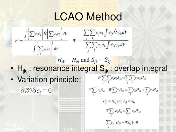 LCAO Method