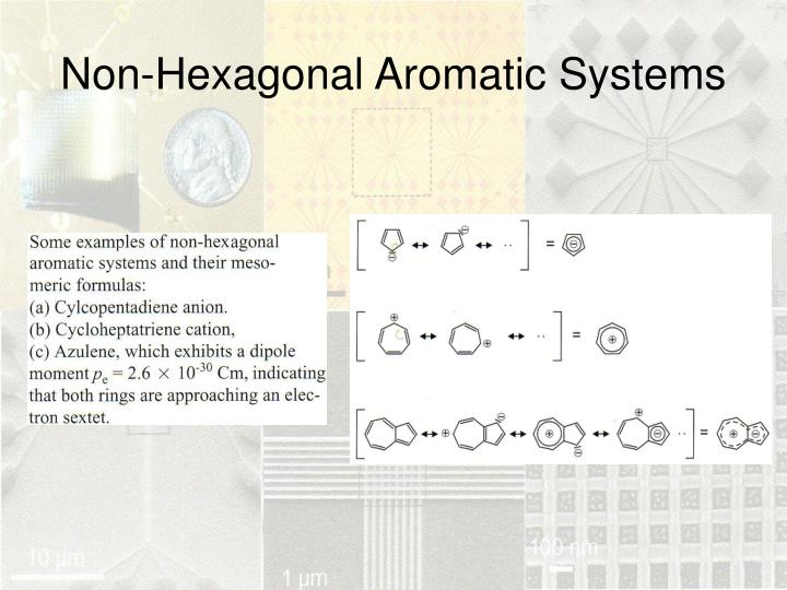 Non-Hexagonal Aromatic Systems