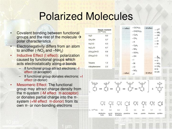 Polarized Molecules