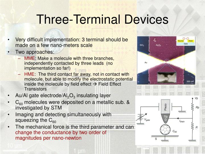 Three-Terminal Devices