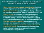 5 practical priorities local activism by business and ngos leads to major changes