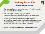 looking for a job1