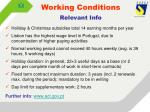 working conditions1