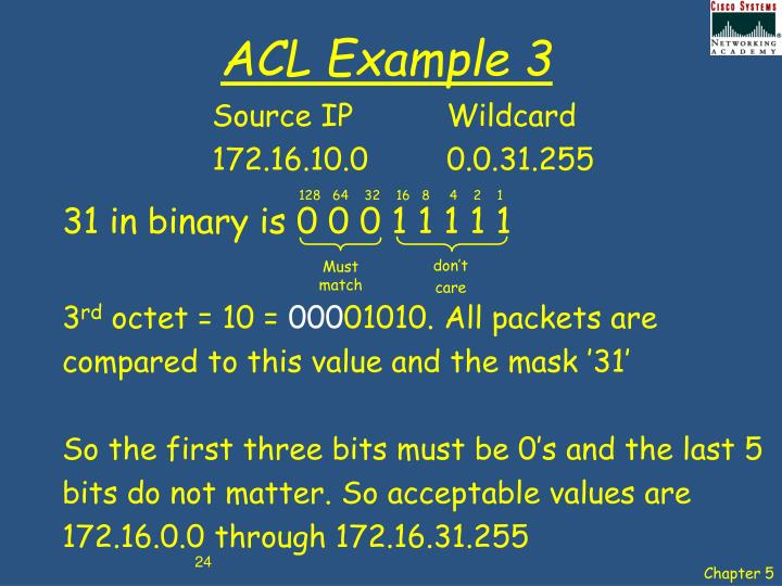 ACL Example 3