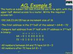 acl example 5