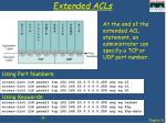 extended acls1