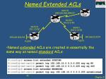 named extended acls