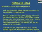 reflexive acls1