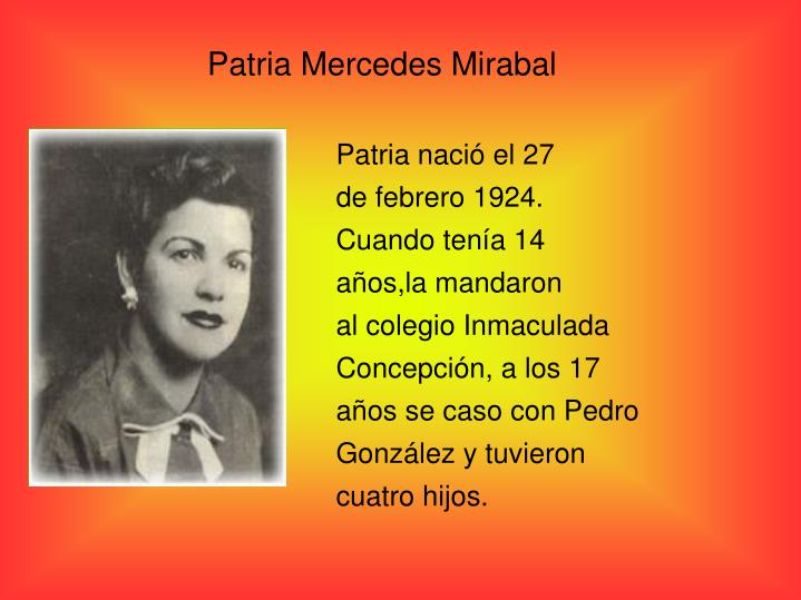 Patria Mercedes Mirabal