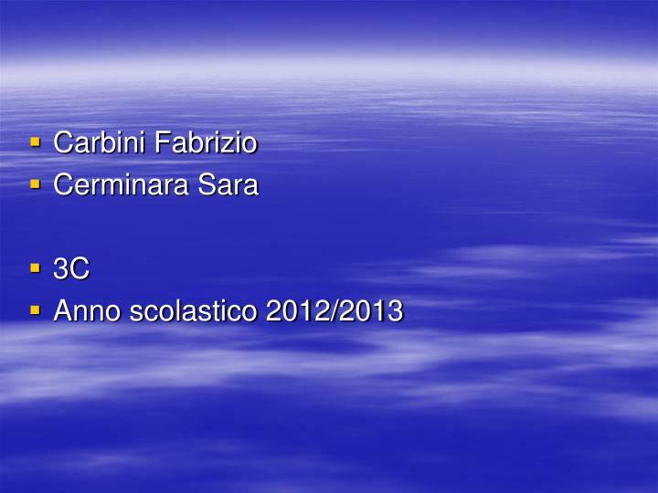 Carbini Fabrizio
