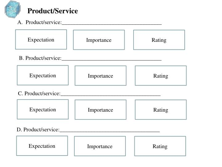 Product/Service