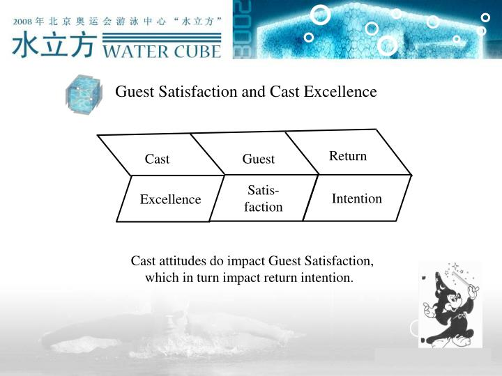 Guest Satisfaction and Cast Excellence