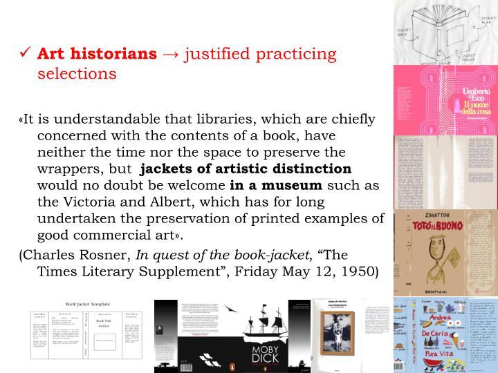 Art historians →