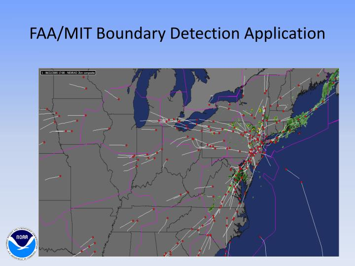 FAA/MIT Boundary Detection Application