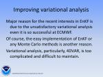 improving variational analysis