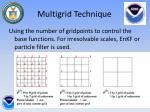 multigrid technique