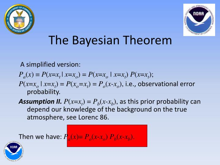 The Bayesian Theorem