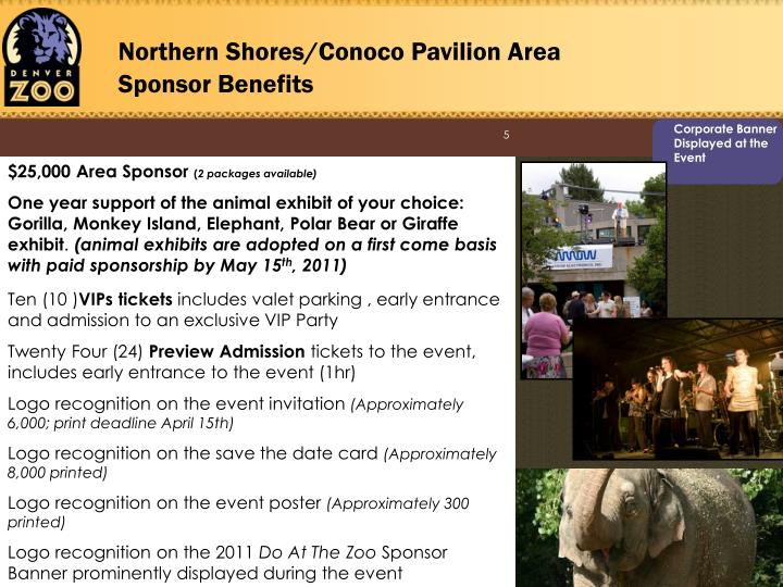 Northern Shores/Conoco Pavilion Area