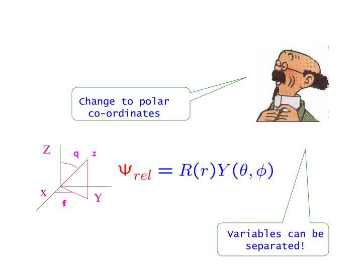 Change to polar