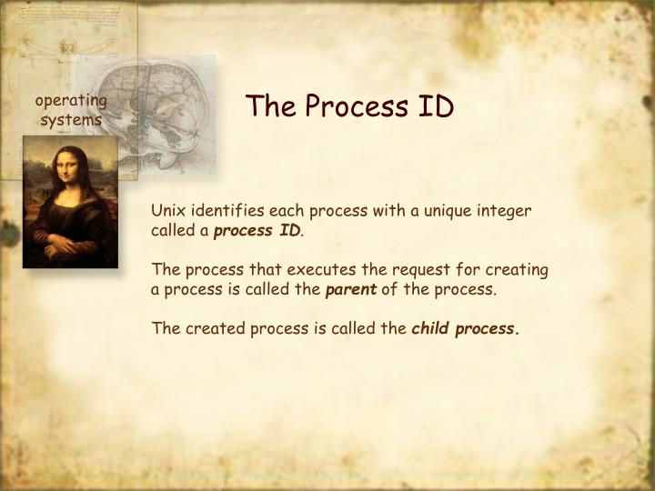 The Process ID