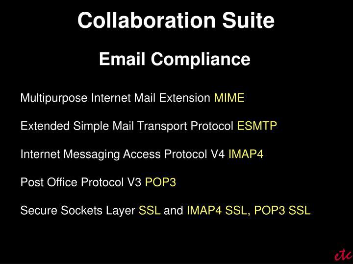 Collaboration Suite