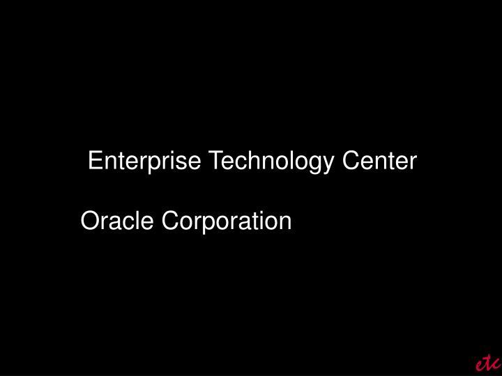 Enterprise Technology Center