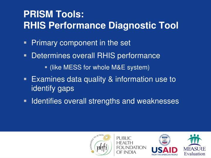PRISM Tools: