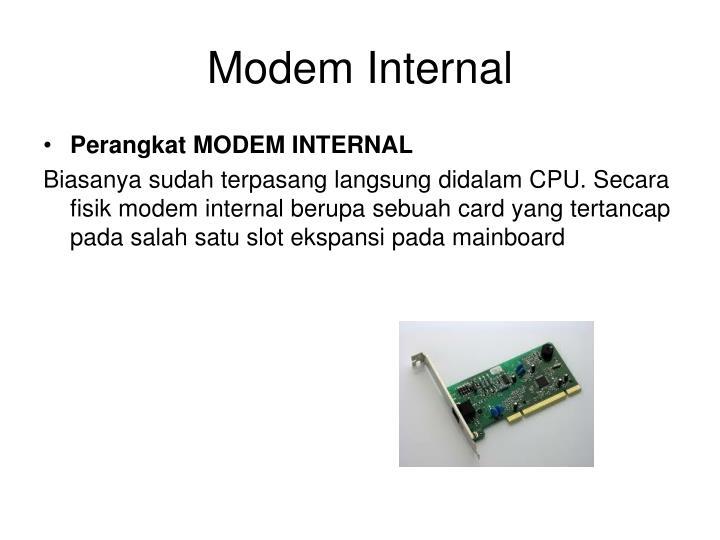 Modem Internal