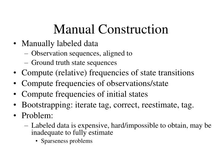 Manual Construction