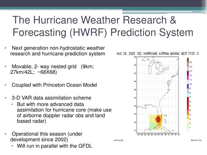 The Hurricane Weather Research & Forecasting (HWRF) Prediction System