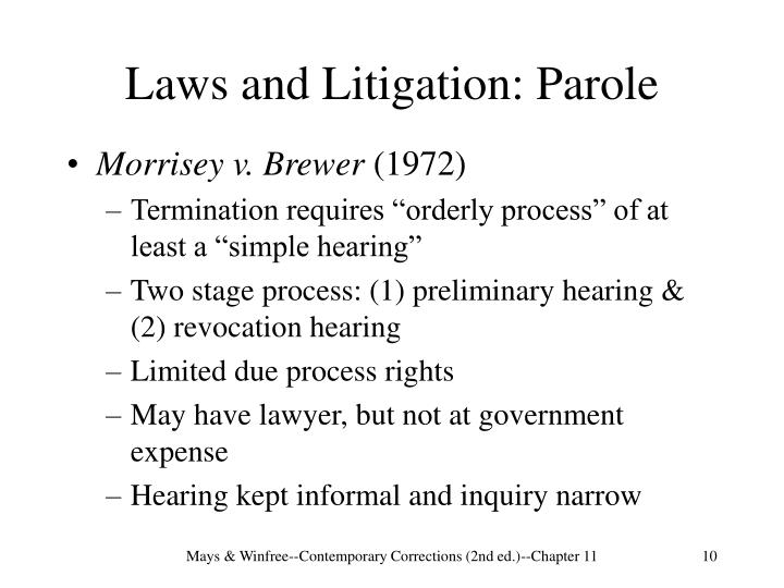 case of mempa v rhay essay Cj chapter 12 study play  mempa v rhay supreme court case that ruled probationers were entitled to an attorney during the probation revocation process  us supreme court case ruled that a person's home or car could be forfeited even though the owner was unaware the property was connected to illegal activity.