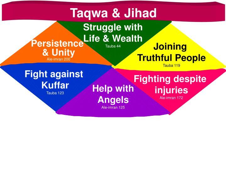 Taqwa & Jihad