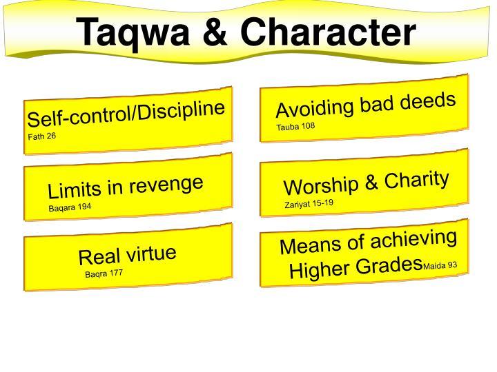 Taqwa & Character