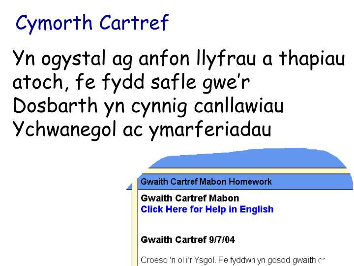 Cymorth Cartref