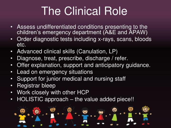 The Clinical Role