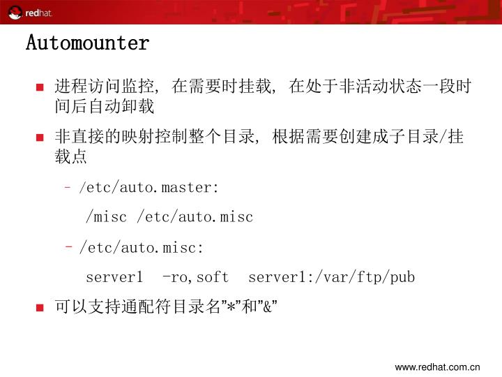 Automounter