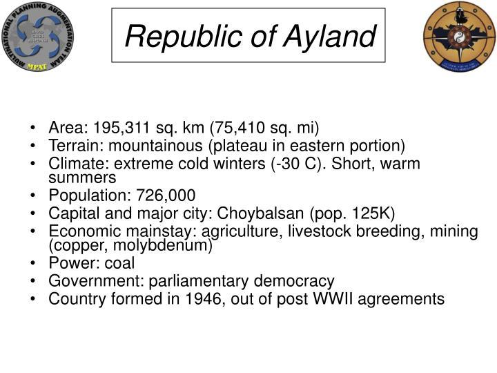 Republic of Ayland
